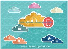 Martin Custom Logos and Art Work Sample Like Us On Facebook #CustomLogo #LogoDesign #ArtWork #websitegraphics #graphics #globalcommunication #servers #cloudcomputing