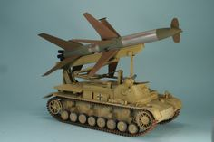 Panzer IV mit Rheintochter AA Missile - Brilliant. http://www.whatifmodelers.com/index.php/topic,25195.15.html