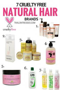 7 cruelty free natural hair brands