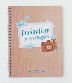 FOTOGRAFIERE DEINE GEDANKEN / Notizheft A5  von eaudecollage > papeterie auf DaWanda.com