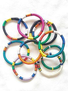 Elizabeth Morr Ndebele Bracelets  (Rope bracelets) Rope Bracelets, Glasses, Eyewear, Eyeglasses, Eye Glasses, String Bracelets