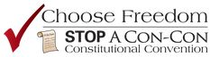 Here's a helpful John Birch Society webpage about stopping a Constitutional Convention, which presents some helpful tools for educating yourself, for informing others, and for lobbying our politicians against this counterproductive idea.