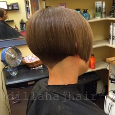 """Love cutting Brooke's hair!! Used the scissor over comb technique with my 7"""" #samvilla shears to finish! #hair #haircut #hairsty..."""