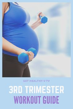 There's no doubt about it: exercising during pregnancy is good for both you and your baby.  These are the best prenatal workouts that can guide you through each trimester. As always, make sure you clear everything with your doctor before you get started with a routine. #prenatalworkout #pregnancy #fitpregnancy #healthypregnancy #workout #athomeworkout #gethealthyutv