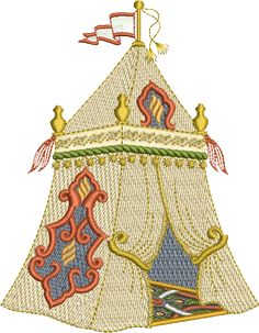 Sue Box Creations | Download Embroidery Designs | 02 - Tent-FLASH SALE at SueBoxCreations-Check your Newsletter for Details. Those interested, register on her site, sign up for the newsletter, paying in Australian currency through through Paypal it will reduce your bill by almost $6.