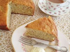 Easy Banana Cake...I used 3 Bananas, 50ml of honey instead of sugar and added a pinch of Bi-carb Soda. Great cake. LOVED that it used only 1 pot and a plate for mashing. Easy clean up!