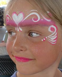 Face Paints | Face Painting Illusions and Balloon Art, LLC: Valentines Face Painting ...