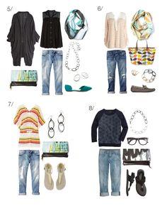 how to wear boyfriend jeans // 8 ways to style your boyfriend jeans via megan auman // click through for outfit details