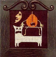 Somebody's Got My TAIL! Cross Stitch Chart by Prairie Moon
