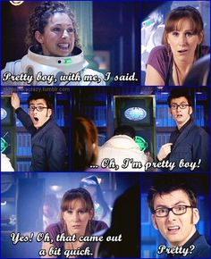 River and Donna were awesome together.