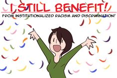 White Privilege Explained In One Simple Comic