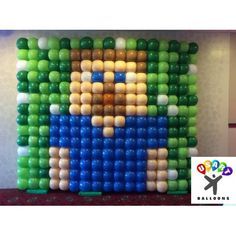 Balloon Wall wih GridzGreat effect and size. We can also make a diferent design!Call us at 561-674-5053(Delivery fee may can apply)