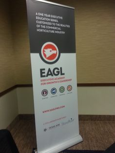 Stunning and sturdy brand banner, designed by Launch Lab Creative & printed by Allegra (St. Paul, MN).