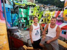 FAVELA PAINTING // Street artists turn no-go favelas into creative hotspot.