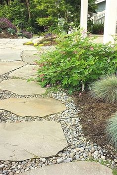 Stepping stone pathway - landscape plans seattle landscape design for seattle st. - Stepping stone pathway – landscape plans seattle landscape design for seattle stock hill landscap - Stepping Stone Pathway, Flagstone Pathway, Gravel Walkway, Rock Pathway, Stone Pathways, Pool Pavers, Stone Walkway, Pea Gravel, Landscaping With Rocks