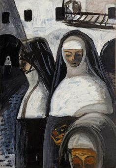 © Auguste CHABAUD. Huile sur carton, 105,5 x 76 cm |  Collection JG ~Via Lyudmila Belova