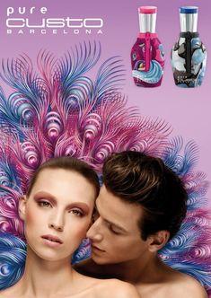 Reklama perfum Custo Barcelona Pure