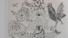1960 -La Storia di Schiaccianoci-drawing