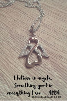 Angels can send messages in many ways. This week it's a reminder that what you believe in, could believe in you too and you may actually find messages from your angels in the strangest ways... like finding a necklace that was given to you a year ago that you stashed away #mondaymotivation #motivationalquotes #angels