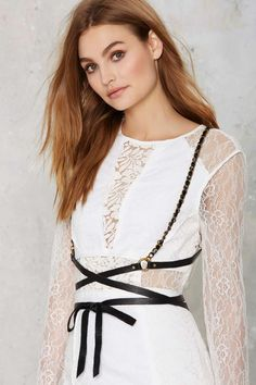 JAKIMAC Wrap City Leather Harness - Accessories   Accessories   Jewelry   All   Party Shop   Body Chains