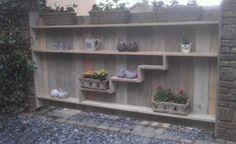 Inspirerend | tuinafscheiding van steigerhout Door Dorienkra