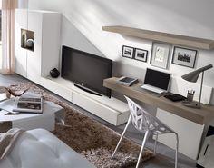 Opción para combinar salón y despacho...