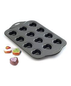 Look at this #zulilyfind! Norpro Nonstick Heart Muffin Pan by Norpro #zulilyfinds