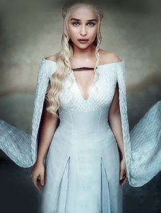 "jonsnows: "" """"She's learning the last lesson she needs to learn, there's just few remnants of being a human being she's shaking off."" - Emilia Clarke as Daenerys Targaryen for EW "" """