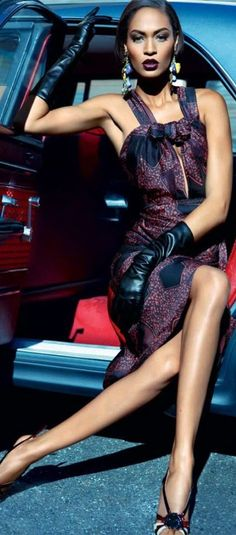 Joan Smalls in Burberry Prorsum by Kai Z Feng for Vogue Australia May 2012
