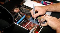 Dean Ambrose and Sasha Banks host a VIP signing at Barclays Center in NYC