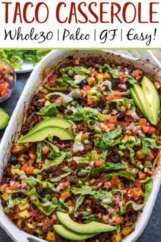 Whole30 Ground Beef Recipes, Healthy Ground Beef, Clean Eating Recipes, Healthy Eating, Healthy Recipes, Paleo Meals, Primal Recipes, Paleo Food, Paleo Diet