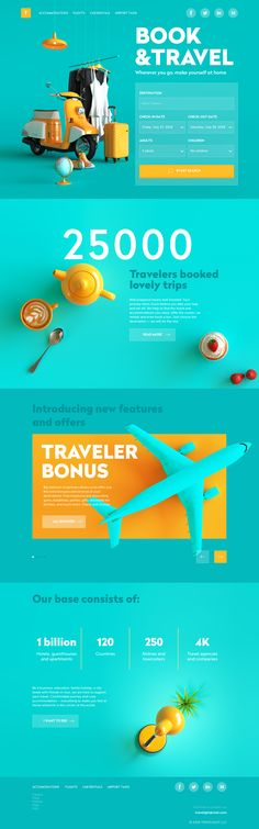 Travel Design Website Layout Ideas For 2019 Design Web, Layout Design, Layout Web, Website Design Layout, Page Design, Graphic Design, Clean Web Design, Simple Web Design, Modern Web Design
