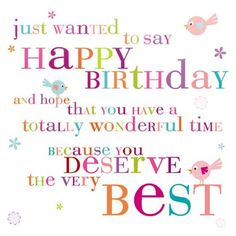 ┌iiiii┐ Happy Birthday Deserve The Best #compartirvideos #videosdivertidos #videowatsapp