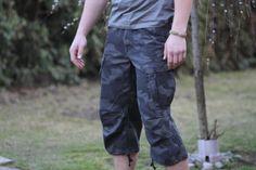 Army Shorts, Camo, Capri Pants, Vintage, Fashion, Camouflage, Moda, Capri Trousers, Fashion Styles