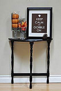 Thanksgiving Food & Decor