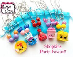 Shopkins Necklace Easter Shopkins Shopkins by GlamShopBeads