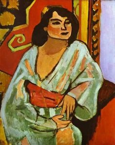 The Algerian Woman ~ Matisse