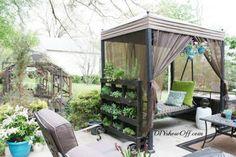 Muebles de palets: 12 fantásticos jardines verticales realizados con ...