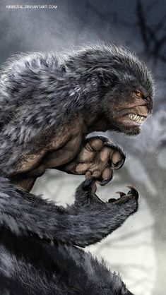 The more you try to retain the beast the greater the monster wants to excape Dark Fantasy, Fantasy World, Fantasy Monster, Monster Art, Creature Feature, Creature Design, Fantasy Creatures, Mythical Creatures, Art Zombie