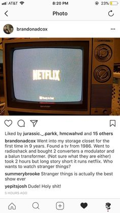 """The lengths that some people will go to for an authentic experience. 23 Things Anyone Who Can't Wait For New """"Stranger Things"""" Will Appreciate Watch Stranger Things, Stranger Things Steve, Stranger Things Aesthetic, Stranger Things Season, Stranger Things Netflix, Boring People, Normal People, Mouth Breather, Wolfstar"""
