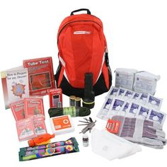 Deluxe Emergency Bug Out Bag  2 Person Emergency Zone Brand * Check this awesome product by going to the link at the image.