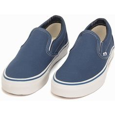 Vans Classic Slip-On ($115) ❤ liked on Polyvore featuring shoes, everyday