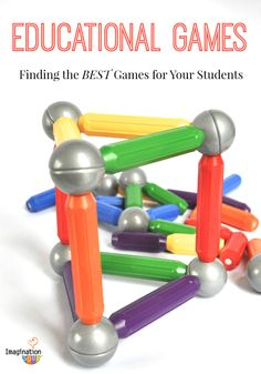 How to find the best education games for your classroom + favorite TpT stores!