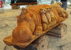 'Time flies as nature cries' and other lessons from Chainsaw Sculptures : TreeHugger