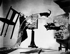 "Salvador DALI. ""Dali Atomicus."" 1948."