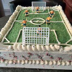 Birthday Cake Football - Europa Dessert Bar