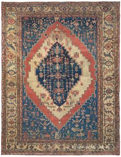 Persian Bakshaish rug, Second Quarter 19th Century, Claremont gallery