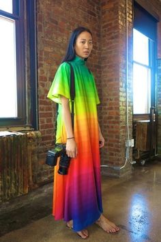 spookypuke: vintagevirgin: jeangreige: Every colour in the rainbow - via chictopia Angela has some insane vintage pieces! i'm going to ...