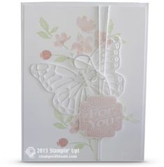 CARD: Four You Beautiful Butterfly | Stampin Up Demonstrator - Tami White - Stamp With Tami Crafting and Card-Making Stampin Up blog