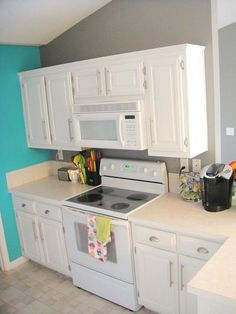 how to chalk paint cabinets, chalk paint, kitchen cabinets, kitchen design, painting
